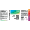 Broad Spectrum CBD gummies label